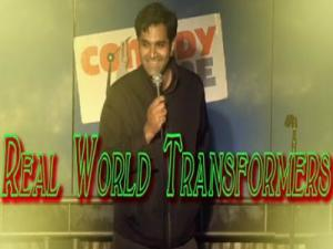 Stand Up Comedy By Abhay Nadkarni Real World Transformers