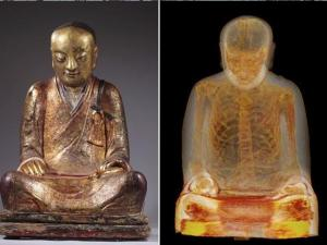 Buddhist Statue Turns Out To Have Mummified Monk Inside