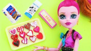 Doll Heart Sugar Cookies