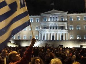 Thousands Join Pro Government Rally In Athens