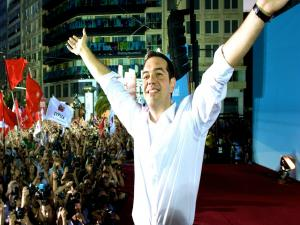 Tsipras Anti Austerity Syriza Party Take Power In Greece