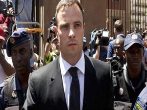 Thelip Oscar Pistorius