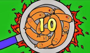 10 Fat Sausages