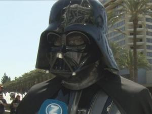 Darth Vader Joined Fans At The Star Wars Convention