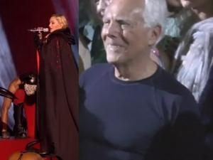 Giorgio Armani Slams Madonna She Is Very Difficult