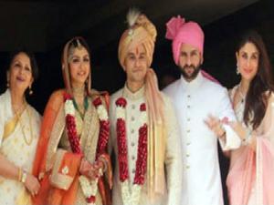 Soha Ali Khan And Kunal Khemus Wedding Photos