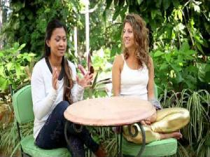 Dashama Interviewing Laura Sykora