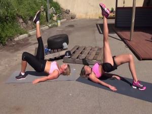 Pilates Fusion Burn Glutes And Legs Workout