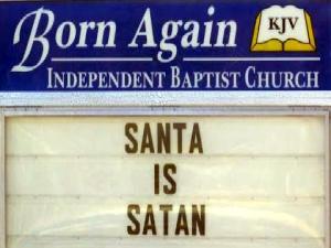 Santa Is Satan Warns Georgia Pastor