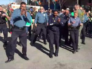Kansas City Police Flash Mob Surprises Crowd With Electric Dance
