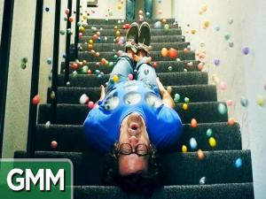 500 Bouncy Balls Slo Mo