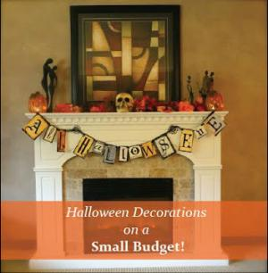 Our Budget Halloween Decorations 2014