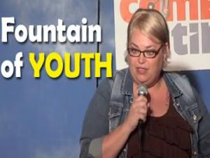 Stand Up Comedy By Amy Blackwell Fountain Of Youth