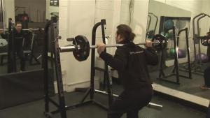 How To Do Squatting Exercises 10028553 By Videojug