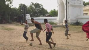 Two Aid Workers Travel The World Through Football