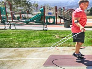 Crossropes Weighted Jumpropes Workout 1