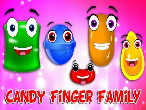 Candy Finger Family