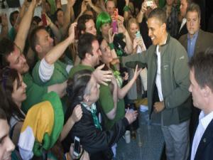 Obama Celebrates