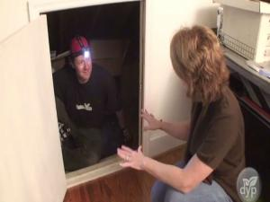 Weatherize Attic Entryway And Save
