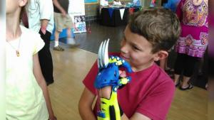 Needy Kids Receive Superhero Prosthetics 3 D Printed Just For Them
