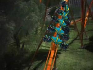 Take A Ride On Thunderbird The Worlds First Launched Wing Roller Coaster