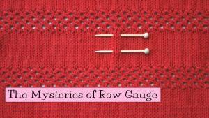 Row Gauge