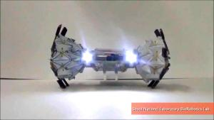 Origami Robotic Wheels Can Shape Shift While In Motion