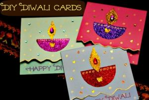 Diwali Card Diy Set