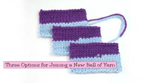 Options For Joining Yarn Ball