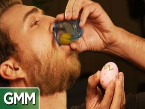 Raw Egg Eating Challenge