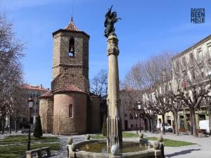 Sant Joan De Les Abadesses Pyrenees Spain