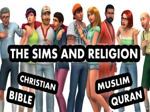 Sims 4 And Religion Christianity And The Islam
