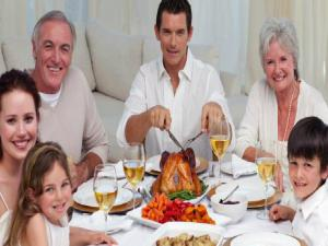 700144 Thanksgiving Dinner Calorie Count