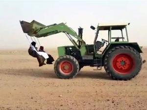 726666 Saudi Arabians Take Ghost Riding To The Next Level