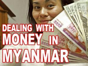 Money In Myanmar