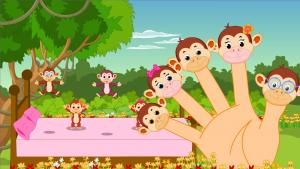Monkey Finger Family