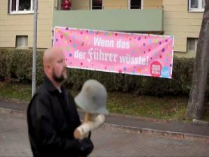 698797 German Town Tricks Neo Nazis Into Holding Fundraising Walk For Anti Nazi Charity