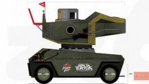 Fully Functional Teenage Mutant Ninja Turtles Pizza Thrower Arrives At Comic Con