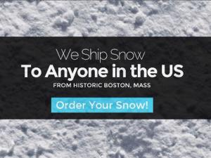 Man Turns Historic Snow Into Cash By Shipping It