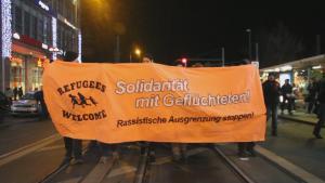 Hundreds March In Anti Nazi Demonstration In Berlin