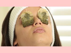 Green Tea For Puffy Eyes