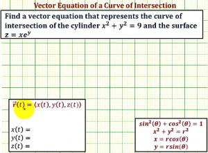 Vector Valued Function