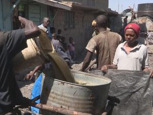 The Worlds Dirtiest Job Cleaning Slum Toilets