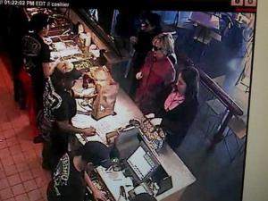 Hillary Clinton Goes Unnoticed At Chipotle