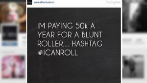 Waka Flocka Flame Offering 50000 To Be His Blunt Roller