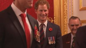 Prince Harry Hosts Reception For Australian War Heroes