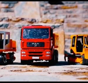 toy car videos for kids ball crusher trucks videos for