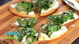 Spinach and Yogurt Flat Bread