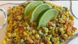 Tex-Mex Toasted Corn Salad