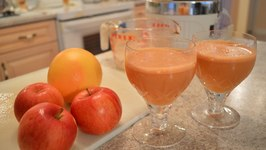 How to Make Apple Grapefruit Juice